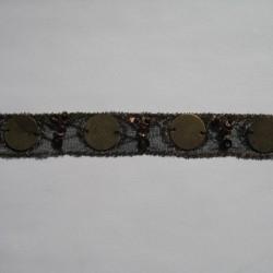 Taśma ozdobna 23mm 1m.b. nr: 163
