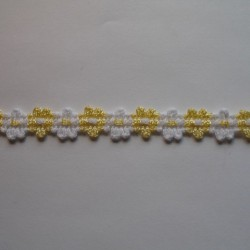 Taśma ozdobna 11mm 1m.b. nr: 173