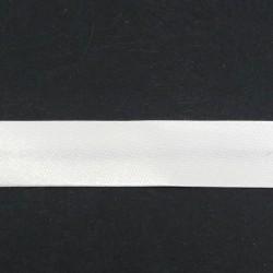 Lamówka atłasowa zaprasowana 1m lub 20m Ecru 0214