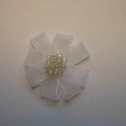 Kokardka Ozdobna z kamyczkami ok. 25mm Nr: 263