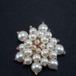 Ozdoba z perłami 35mm nr 2077