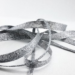 Taśma ozdobna srebrna różne szerokości nr 2143