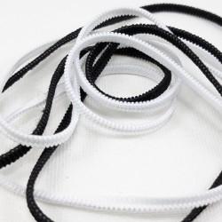 Guma biała i czarna 3mm /300mb 2277