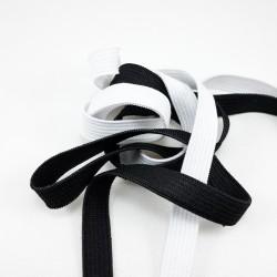 Guma biała i czarna 10mm/50mb 2280