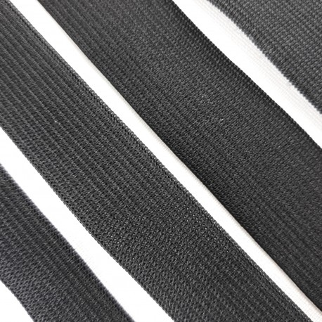 Guma czarna różne szerokości PAKIET 25mb nr 2282