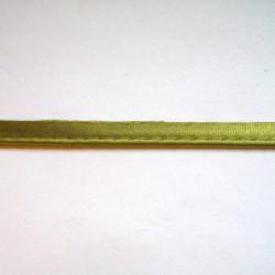 Lamówka ze sznurkiem - wypustka (pajping) 5 m.b. nr 434 ZIELONY