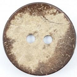 Guzik z łupiny kokosa 60mm 2345