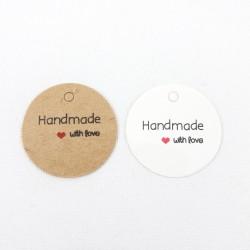 Etykiety papierowe HAMD MADE 2368