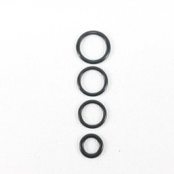 Kółko do ramiączek 10 lub 200szt 6,8,10,12mm 1121