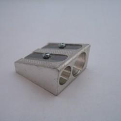 Temperówka metalowa podwójna