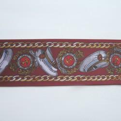 Lamówka dekoracyjna drukowana nr. 508 - 1 m.b.