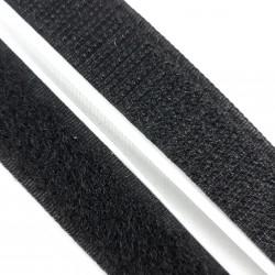 Rzep z klejem biały i czarny 20mm 2505