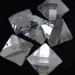 Kamienie akrylowe 24x24mm ,1 lub 20szt 2519