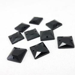 Kamienie akrylowe 12x12mm ,10 lub 100szt 2522
