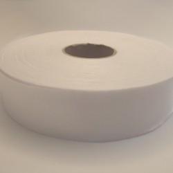 Lamówka atłasowa niezaprasowana biała 5 m.b. 20mm Różne rozmiary